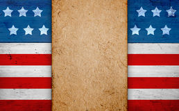 Patriotic american background Royalty Free Stock Photos