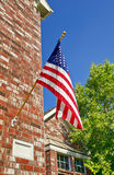 Patriotic American flag Stock Images