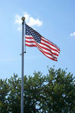Patriotic American Flag Stock Image