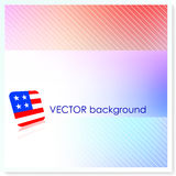 Patriotic American Vector Background Stock Image