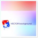Patriotic American Vector Background Royalty Free Stock Photos