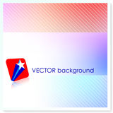 Patriotic American Vector Background Royalty Free Stock Photography