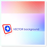 Patriotic American Vector Background Royalty Free Stock Photos