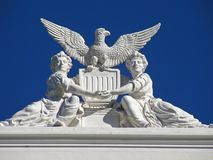 Patriotic Architecture Royalty Free Stock Photography