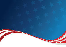 Patriotic Background Royalty Free Stock Photography