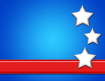 Patriotic Background Royalty Free Stock Photo