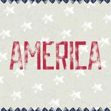 Patriotic background AMERICA Royalty Free Stock Photos