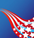 Patriotic Background Royalty Free Stock Image