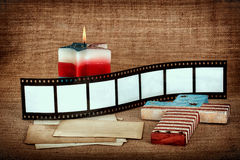 Patriotic Background with place for your images Stock Photo