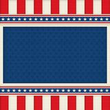 Patriotic Background Poster Art Memorial Day 4th of July royalty free stock images