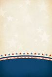 Patriotic background. Stock Image