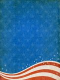 Patriotic background. Textured patriotic background with room for copy-space Royalty Free Stock Photo