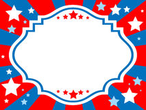 Patriotic background. Vector illustration of patriotic background Royalty Free Stock Image