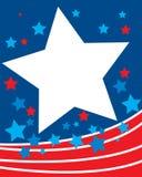 Patriotic background. Vector illustration of patriotic background Stock Photo