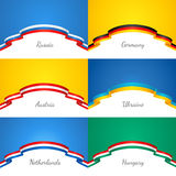 Patriotic backgrounds Royalty Free Stock Photos