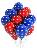 Patriotic balloons Stock Photo