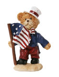 Patriotic Bear Stock Photography