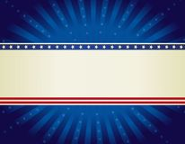 Patriotic border background Stock Photos