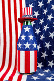 Patriotic Bottle royalty free stock images