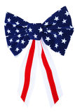Patriotic bow Royalty Free Stock Photo