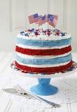 Patriotic cake Stock Photography
