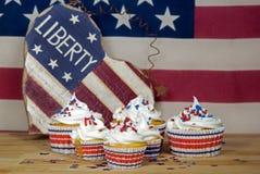 Patriotic Cakes Royalty Free Stock Photos