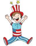 Patriotic Child Stock Images