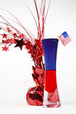 Patriotic Cocktail Royalty Free Stock Image