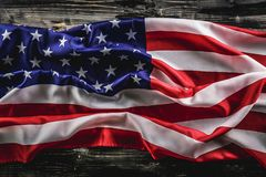 Federal holidays background with the USA national flag stock images