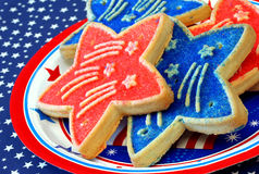Patriotic Cookies Royalty Free Stock Photos