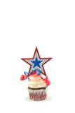 Patriotic Cupcake Stock Photos