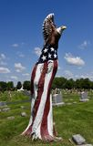 Patriotic Dead Tree Art Royalty Free Stock Images