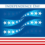 Patriotic design_independence day Royalty Free Stock Photos