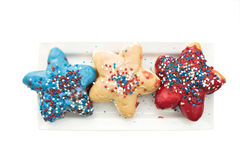 Patriotic desserts Stock Photo