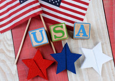 Patriotic Display Stock Photography