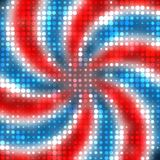 Patriotic Dots Stock Image