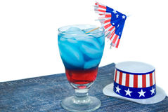 Patriotic Drink Royalty Free Stock Images