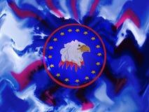Patriotic Eagle Stock Images