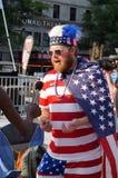 Patriotic Fan Stock Photos