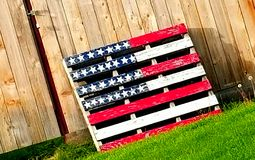 Patriotic flair Royalty Free Stock Photography