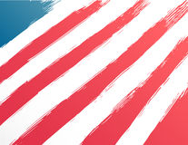 Patriotic fourth of july vector Royalty Free Stock Photo