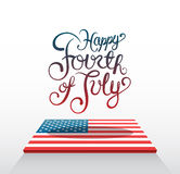 Patriotic fourth of july vector Stock Images
