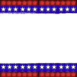 Patriotic frame Stock Photo