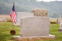 Patriotic Grave Royalty Free Stock Images