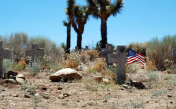Patriotic Grave Stock Photography