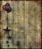 Patriotic Grunge Background Royalty Free Stock Photography