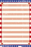 Patriotic grunge background Stock Photography
