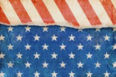 Patriotic grunge background. Royalty Free Stock Images
