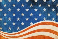 Patriotic grunge background. Stock Photo