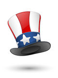 Patriotic hat. EPS10  included Royalty Free Stock Photography